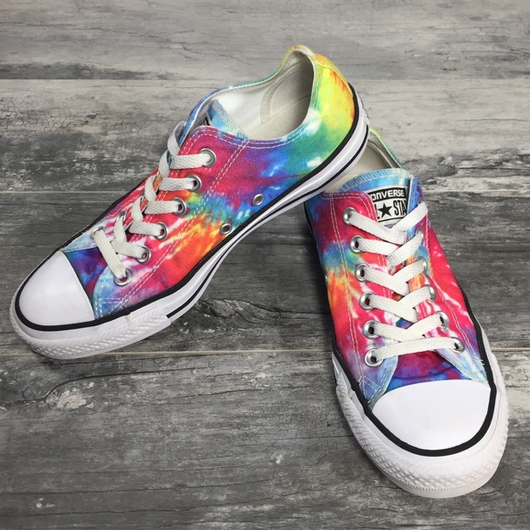 79ab8fa4bc5 Converse Shoes - Converse All Star Chuck Taylor Rainbow Tie Dye 7.5